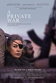 Egy magánháború LETÖLTÉS INGYEN - ONLINE (A Private War)